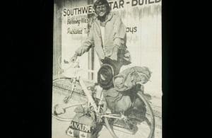 Brock Tully on his 1st bike trip