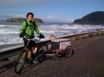 2009 Brock Tully Oregon Coast Cycle it Forward Tour